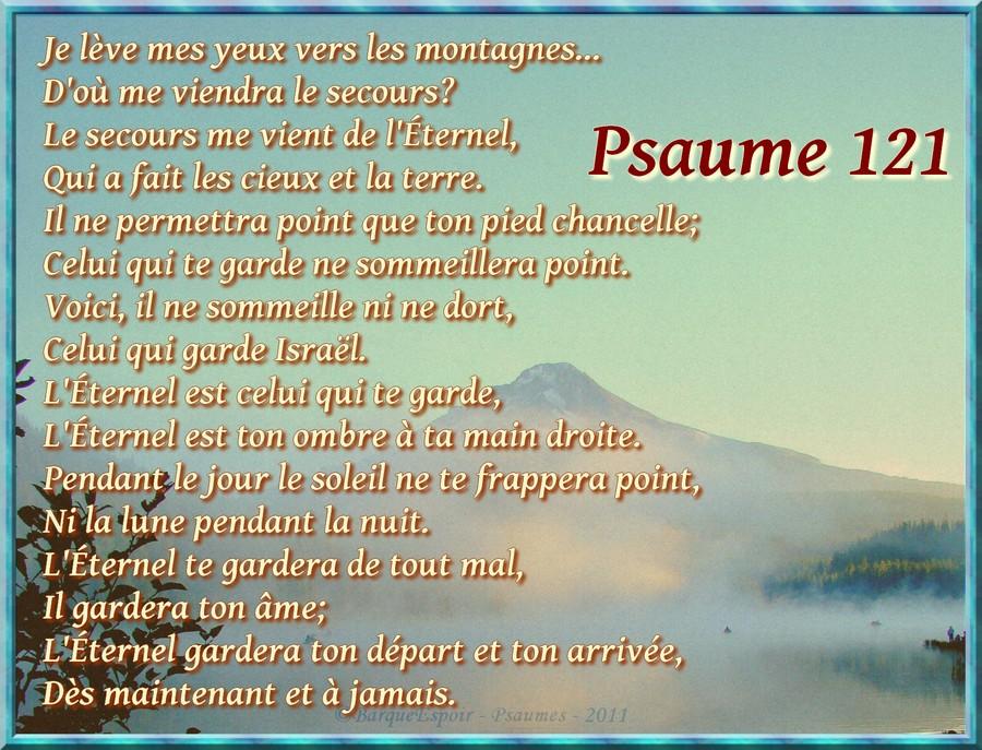 psaume-121 dans Psaumes